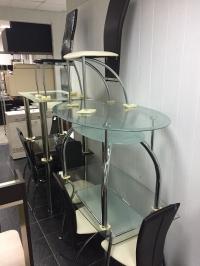 """Столы стеклянные """"Обеденные"""""""